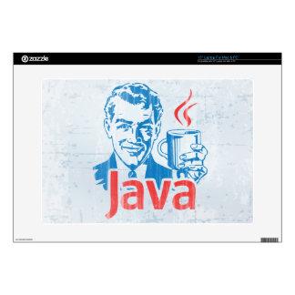 """Java Programmer Skin For 15"""" Laptop"""