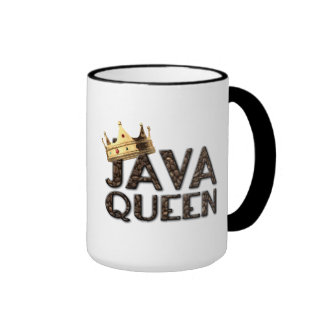 Java Queen Ringer Coffee Mug