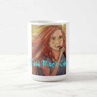 java rock cafe girl coffee mug