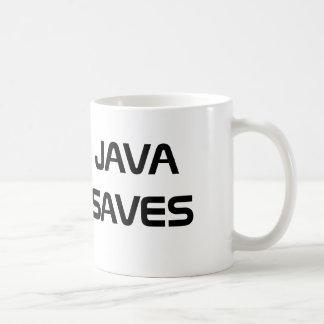 Java Saves Coffee Mug