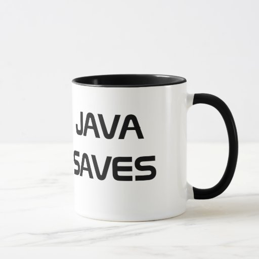 Coffee Maker Java Code : Java Saves Coffee Mug Zazzle