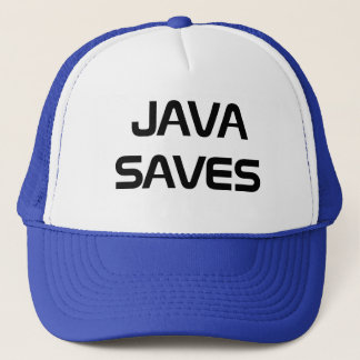 Java Saves Trucker Hat