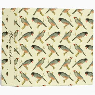 Java Sparrow, 2 inch binder