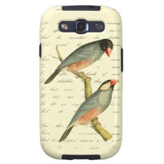 Java Sparrow, Galaxy S3 Cases