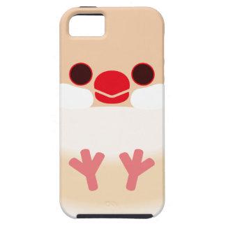 Java sparrow (Cream) iPhone 5 Case