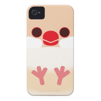 Java sparrow (Cream) iPhone 4 Cases