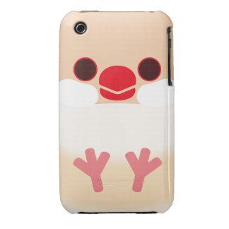 Java sparrow (Cream) iPhone 3 Covers