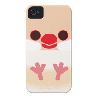 Java sparrow (Cream) iPhone 4 Covers