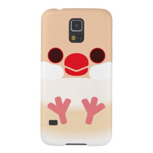 Java sparrow (Cream) Galaxy S5 Covers