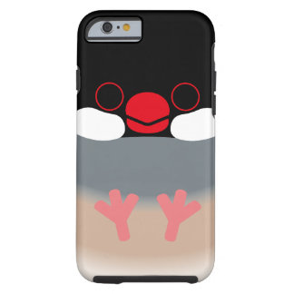 Java sparrow (Normal) iPhone 6 Case
