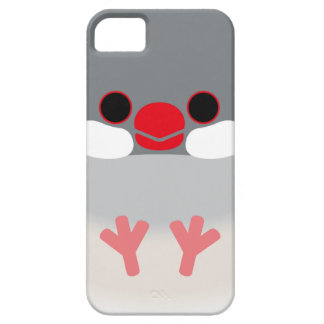 Java sparrow (Silver) iPhone 5 Covers