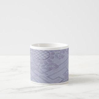 Java Textile III 6 Oz Ceramic Espresso Cup