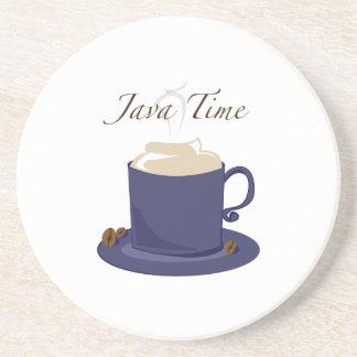 Java Time Drink Coasters