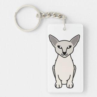 Javanese Cat Cartoon Keychain