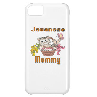 Javanese Cat Mom Cover For iPhone 5C