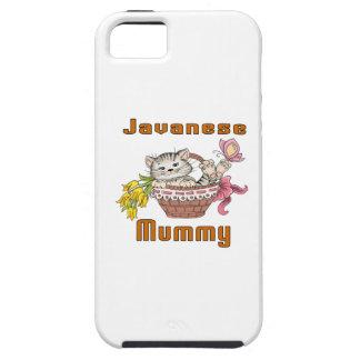 Javanese Cat Mom iPhone SE/5/5s Case