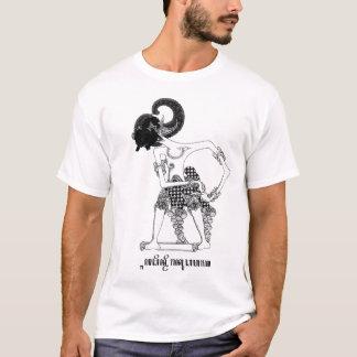 Javanese étnico indonesio Wayang de las camisetas