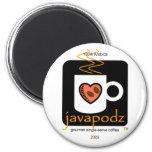 JavaPodz  2009 Frig Mag Magnets