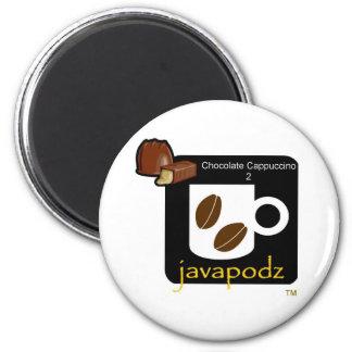 JavaPodz Frig Magnet - Chocolate Cappuccino