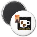 JavaPodz Frig Magnet - French Roast