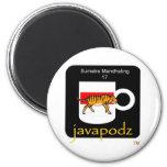 JavaPodz Sumatra Mandehling Fridge Magnets