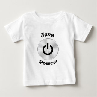 JavaPower-BlackLetters Baby T-Shirt