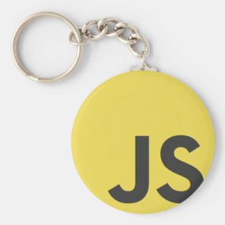 Javascript Basic Round Button Keychain