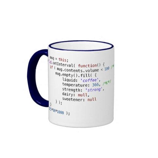 Coffee Maker Javascript : JavaScript coffee mug Zazzle