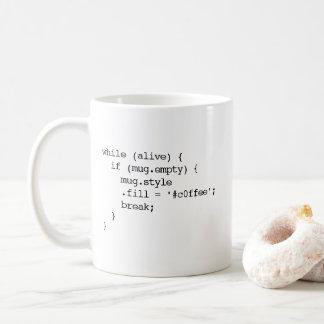 JavaScript Coffee Mug (#c0ffee break - double)