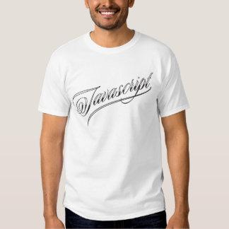 Javascript Tattoo Script T-Shirt