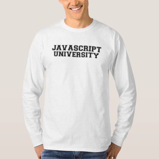Javascript University T-Shirt