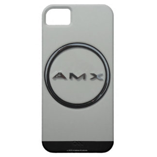 JAVELIN AMX LOGO AMERICAN MOTORS COMPANY FUNDA PARA iPhone 5 BARELY THERE