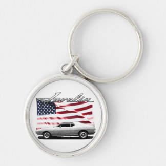 Javelin AMX muscle car Keychain