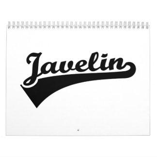Javelin Calendar