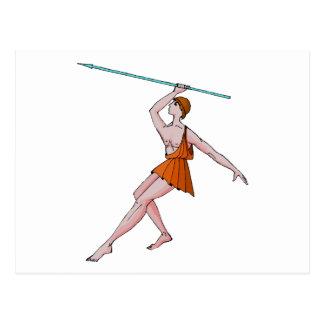 Javelin Champion 396 BC Postcard