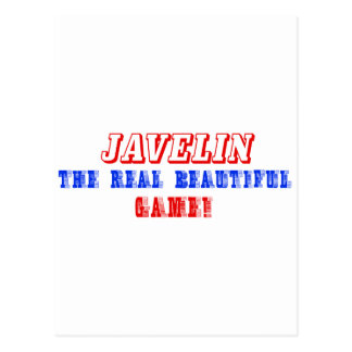 javelin  design postcard