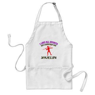 Javelin designs aprons
