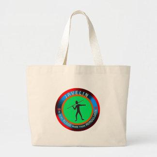 Javelin designs tote bag