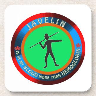 Javelin designs drink coasters