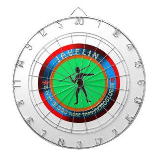 Javelin designs dart boards