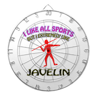 Javelin designs dartboard