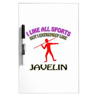 Javelin designs Dry-Erase whiteboard
