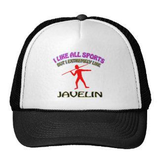 Javelin designs mesh hat