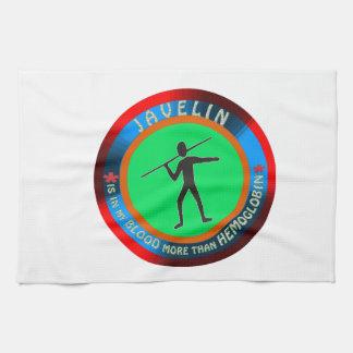 Javelin designs hand towels