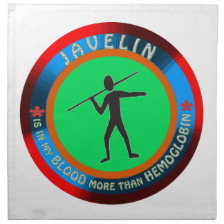 Javelin designs cloth napkin