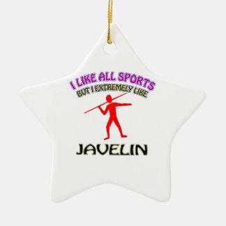 Javelin designs ornament