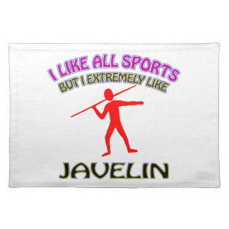 Javelin designs placemats