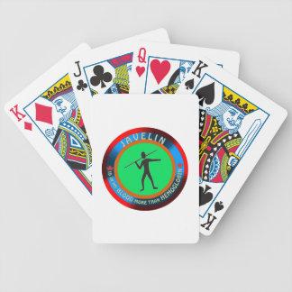Javelin designs poker deck
