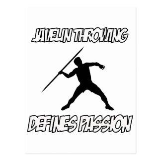 javelin designs postcard