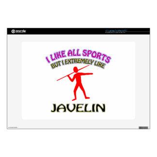 Javelin designs laptop skins
